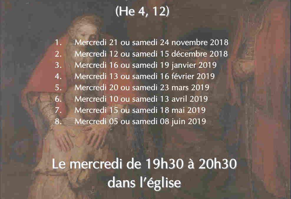 Parcours Saint Luc: Méditations sur Luc 4-9