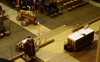 « Pourquoi passer à l'église pour des funérailles ? »