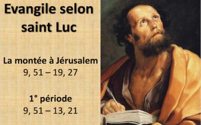 Parcours Saint Luc: méditation sur Luc 10-14