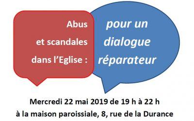 Rencontre, Ecoute, Dialogue… sur les abus dans l'Eglise !