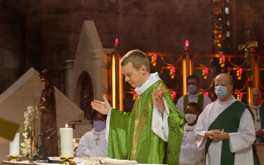 Première messe du père Thomas