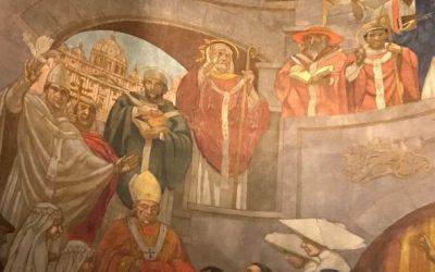 Les pères de l'Eglise latine