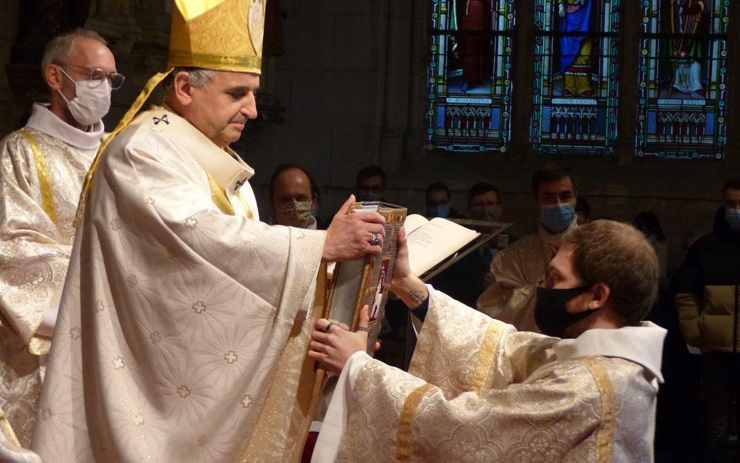 Ordination d'Alexandre