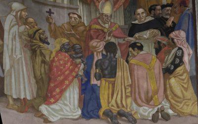 Registre inférieur de la peinture de la Pentecôte, 2e partie