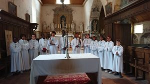 Les vacances des servants d'autel !